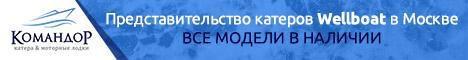 Катера Wellboat в Москве. Все модели в наличии