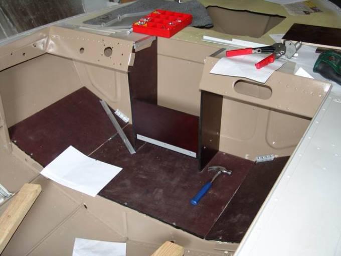 ремонт или тюнинг лодок