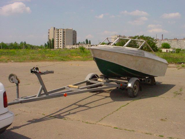 Своими руками прицепы для моторных лодок 171