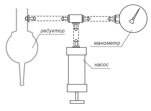 схема тонометра