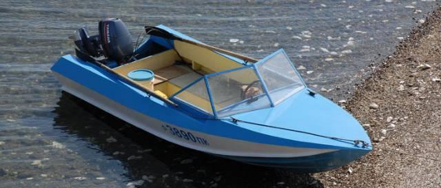 Фанерная лодка 38