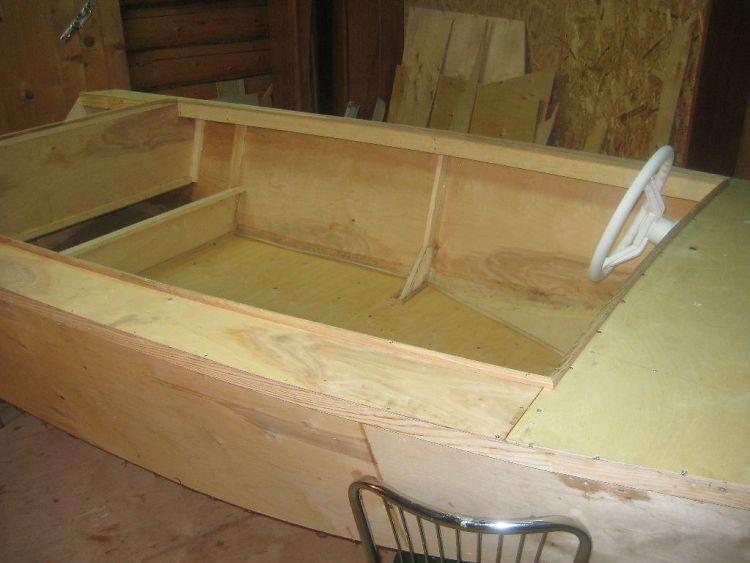 лодка своими руками из фанеры методом сшей и склей