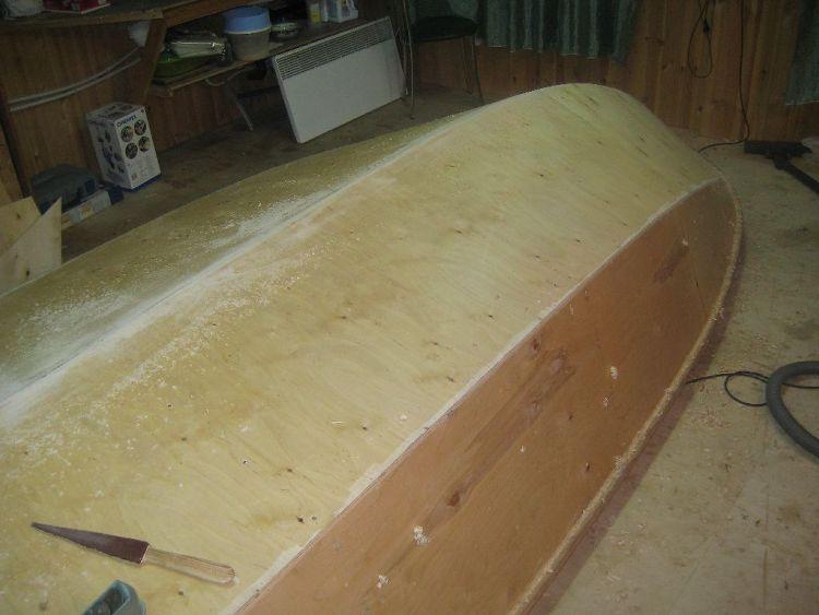 обработка фанеры от влаги для лодки