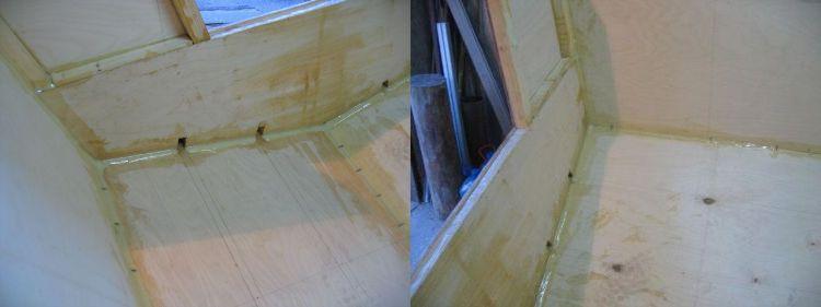 проклейка лодок стеклотканью