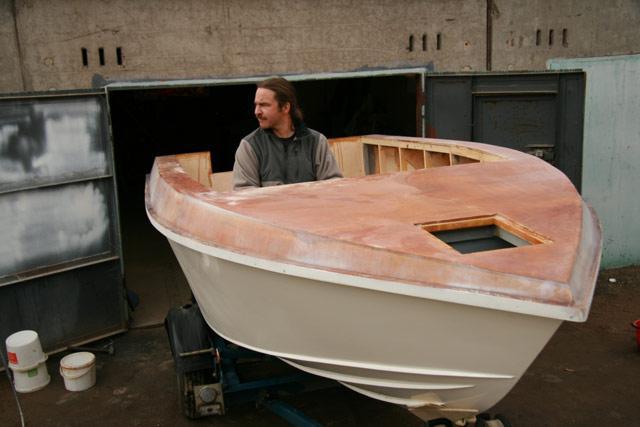 самодельные лодки и катера из пеноплекса