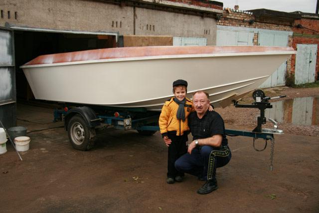 как построить самому моторную лодку