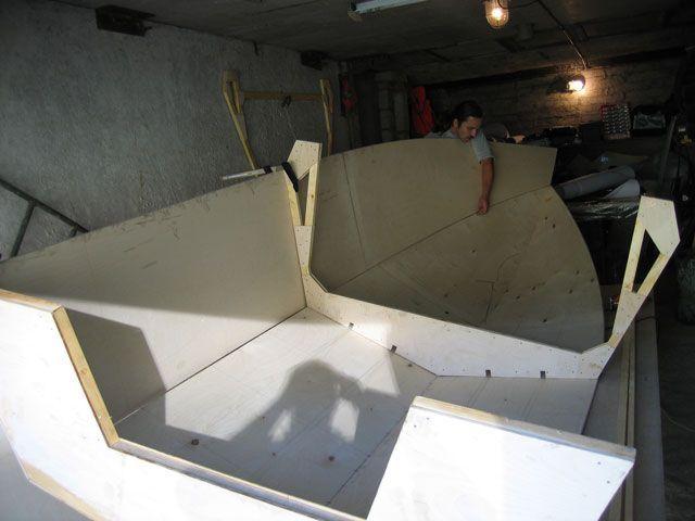 лодка из стекловолокна сделать сам