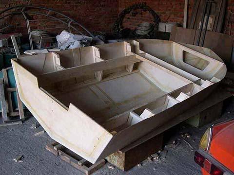 строительство весельных лодок