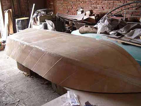 стеклоткань для ремонта фанерной лодки