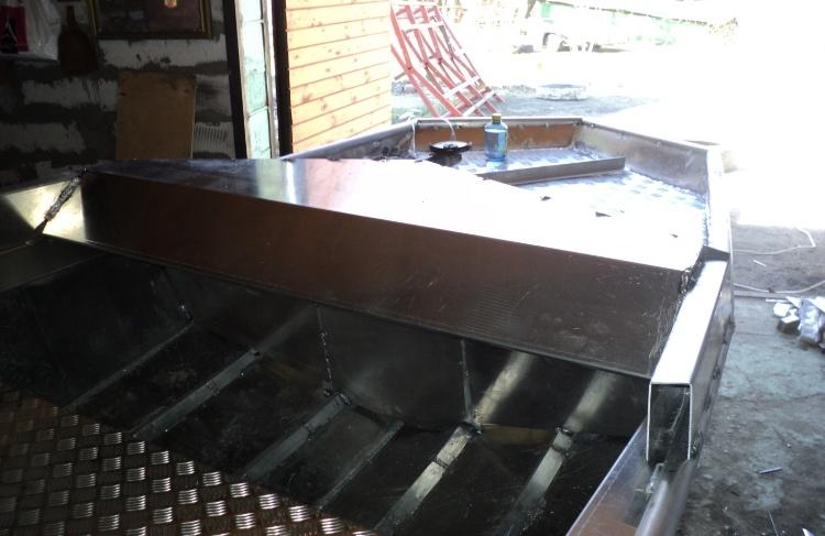Как сварить лодку из металла