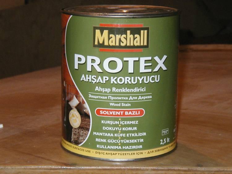 Турецкая защитная пропитка для дерева.