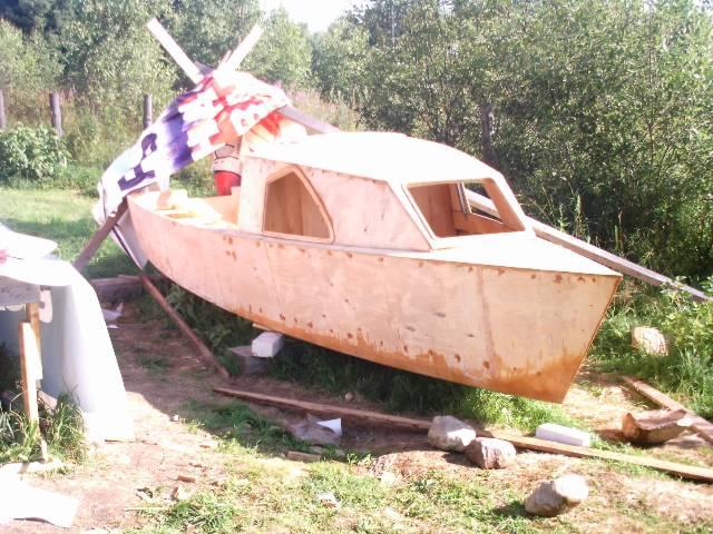 Фанерная лодка своими руками